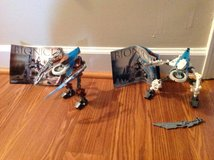 Vintage LEGO BIONICLES lot #8617 #8619 #8540 Christmas gifts! in Camp Lejeune, North Carolina