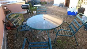 Patio Table and Chairs, grill, hammock for sale! in Stuttgart, GE