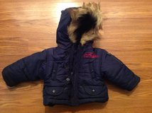 FUBU baby infant winter coat with hood 6 months in Camp Lejeune, North Carolina
