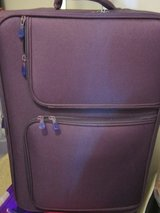 Large suitcase in Lakenheath, UK
