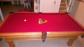 pool table in Sugar Grove, Illinois