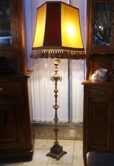 beautiful antique floor lamp with ornate stand in Stuttgart, GE