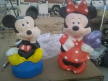 Mickey and Mini in 29 Palms, California