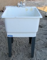 Utility sink, Standing in 29 Palms, California