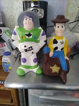 Buzz and Woody in 29 Palms, California