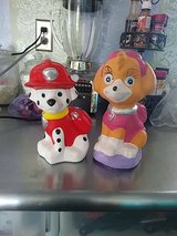Paw Patrol coin banks in 29 Palms, California