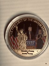 Trump & Ivavka Commemorative Coin in Elizabethtown, Kentucky