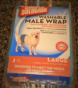 2 Washable Male Wraps Large in Fort Leonard Wood, Missouri