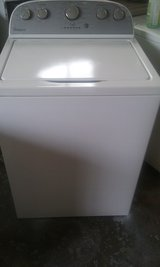 Super Capacity Whirlpool Washer w/ Warranty in Wilmington, North Carolina