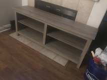 Light Grey Wood Tv Stand/Table (Like New) in Camp Pendleton, California