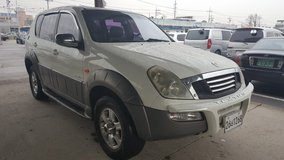4X4!! 2003 SSANGYONG REXTON-AUTO-7 SEATERS-GOOD RUNNING COND.-133K MILES in Camp Humphreys, South Korea