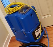 NaceCare TP8X Tempest carpet extractor 8025152 canister 8 gallon 20 foot hose kit 130psi pump - OBO in Lockport, Illinois