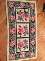 Vintage Latch Hook Rug Roses in Yorkville, Illinois