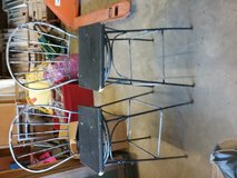 Wrough Iron Swivel  Bar Stools in DeRidder, Louisiana