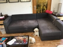 L shaped sofa with pop up bed-pending in Ramstein, Germany