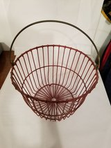 Vintage Metal Egss Basket in Bartlett, Illinois