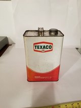 Vintage Metal Texaco Oil Can in Bartlett, Illinois
