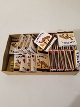 Vintage Camel Matches Booklets Over 30 Booklets in Elgin, Illinois
