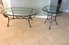 Glass Table Set in Beaufort, South Carolina