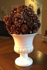 Pinecone Centerpiece in Naperville, Illinois