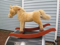 CHRISA PLAYFUL PLUSH ROCKING HORSE in Cherry Point, North Carolina