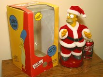 Homer Simpson Santa - Singing Dancing Talking Electronic Christmas Toy in Bartlett, Illinois