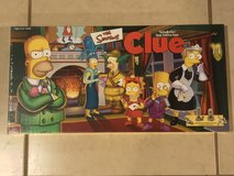 The Simpsons Clue Board Game EUC Complete in Travis AFB, California