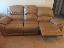 Leather Couch and Love Seat in Camp Lejeune, North Carolina
