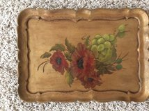 Hand painted Wooden Tray in Baytown, Texas