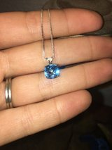 Sterling Silver Blue topaz necklace in Travis AFB, California
