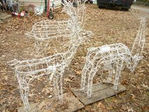 4 Lighted Deer in Pleasant View, Tennessee