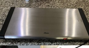 *** Oster stainless steel surface warming tray** in Kingwood, Texas
