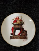 Norman Rockwell Xmas Plate in Travis AFB, California