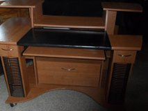 Computer Desk built in file cabinet in Cleveland, Texas