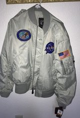 Alpha Industries MA-1 NASA Kennedy Space Shuttle Jacket in Camp Pendleton, California