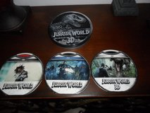 3DJurrassic World in Collector Tin includes: Jurrassic World in 3D, Blu-ray DVD, & regular DVD in Houston, Texas
