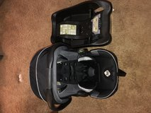 Safety 1st Car Seat w/quick connect in Fort Leonard Wood, Missouri