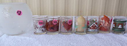 Glass Bowl and Other Decor BOX 15 in Alamogordo, New Mexico
