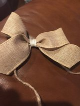 Handmade burlap bows - 8 in Lockport, Illinois