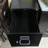 2 Drawer HON Metal File Lockable Cabinet (have key) in Conroe, Texas