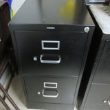 2 Drawer Lockable HON File Cabinet - have the key in Cleveland, Texas