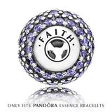 "New!!!! PANDORA ESSENCE Charm ""Faith"" Sterling Silver in Morris, Illinois"