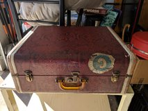Vintage suitcase in Fort Rucker, Alabama