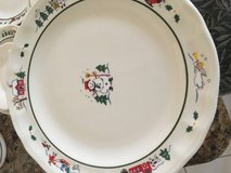 Pfaltzgraff Snow Village giant set 20 dinner plates and so much more Christmas China in Houston, Texas