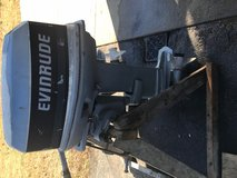 1985 Evinrude 25hp electric start Longshaft in Fort Lee, Virginia