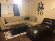 couch ottoman and lounge chair for sale in Lawton, Oklahoma