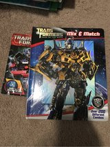 Transformers Mix and Match book in Lockport, Illinois