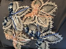 Crochet butterflies in Olympia, Washington