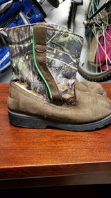 Camo toddler boot size 11 in Houston, Texas