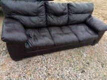 7' leather couch in Vista, California